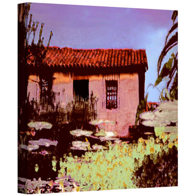 Brushstone Reflection The Past Gallery Wrapped Canvas Wall Art