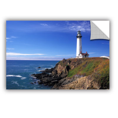 Brushstone Pigeon Point Lighthouse Removable WallDecal