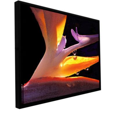 Brushstone Rain Bird Gallery Wrapped Floater-Framed Canvas Wall Art