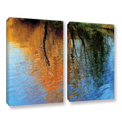 Brushstone Rogue Reflections 2-pc. Gallery WrappedCanvas Wall Art