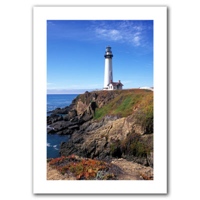 Brushstone Pigeon Point Lighthouse 2 Canvas Wall Art