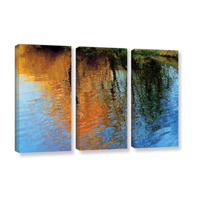 Brushstone Rogue Reflections 3-pc. Gallery WrappedCanvas Wall Art
