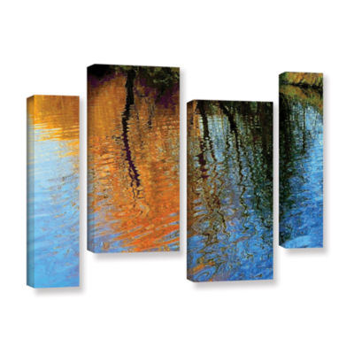 Brushstone Rogue Reflections 4-pc. Gallery WrappedStaggered Canvas Wall Art