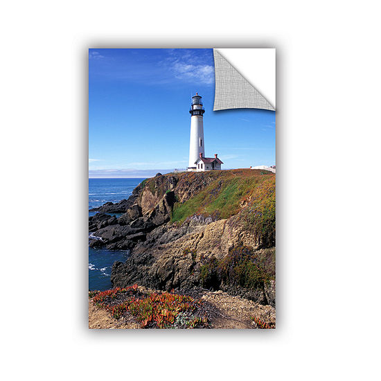 Brushstone Pigeon Point Lighthouse 2 Removable Wall Decal