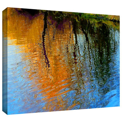 Brushstone Rogue Reflections Gallery Wrapped Canvas Wall Art