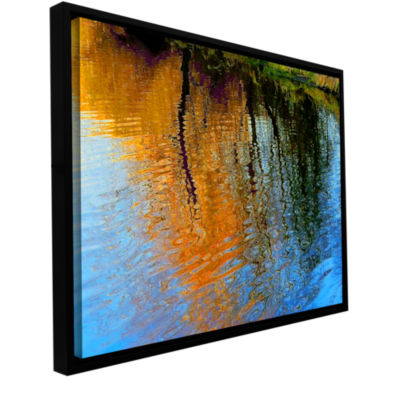 Brushstone Rogue Reflections Gallery Wrapped Floater-Framed Canvas Wall Art