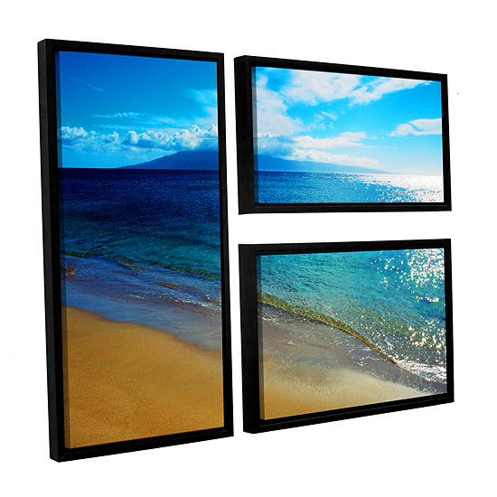 Brushstone Quiet Place 3-pc. Flag Floater Framed Canvas Wall Art