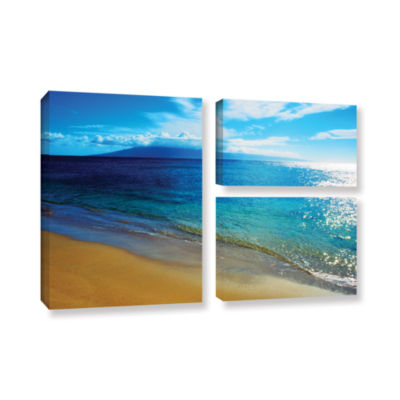 Brushstone Quiet Place 3-pc. Flag Gallery WrappedCanvas Wall Art