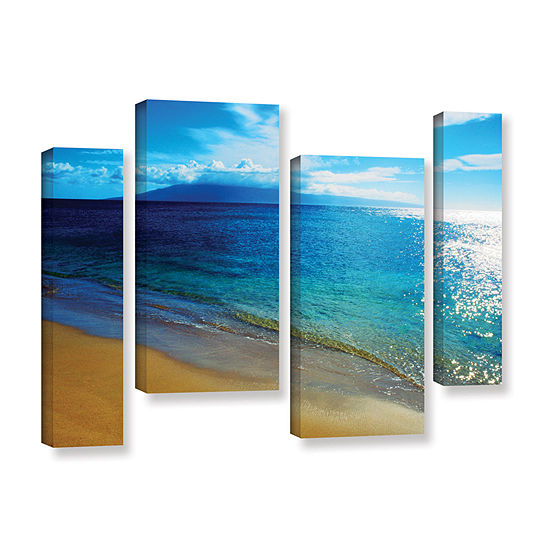 Brushstone Quiet Place 4-pc. Gallery Wrapped Staggered Canvas Wall Art