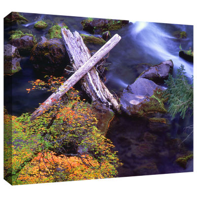 Brushstone Rogue River Falls Gallery Wrapped Canvas Wall Art
