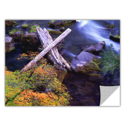 Brushstone Rogue River Falls Removable Wall Decal