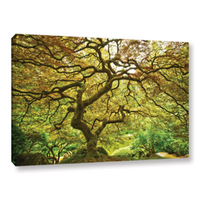 Brushstone Portland Japanese Garden 1 Gallery Wrapped Canvas Wall Art
