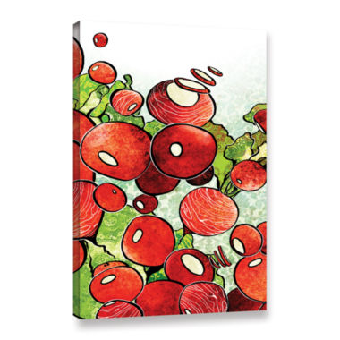 Brushstone Radish Medley Gallery Wrapped Canvas Wall Art