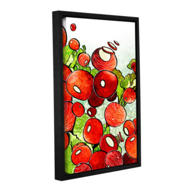 Brushstone Radish Medley Gallery Wrapped Floater-Framed Canvas Wall Art