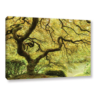 Brushstone Portland Japanese Garden 2 Gallery Wrapped Canvas Wall Art