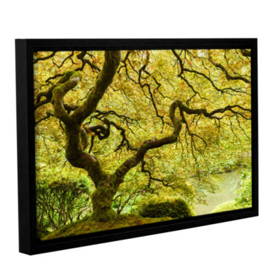 Brushstone Portland Japanese Garden 2 Gallery Wrapped Floater-Framed Canvas Wall Art