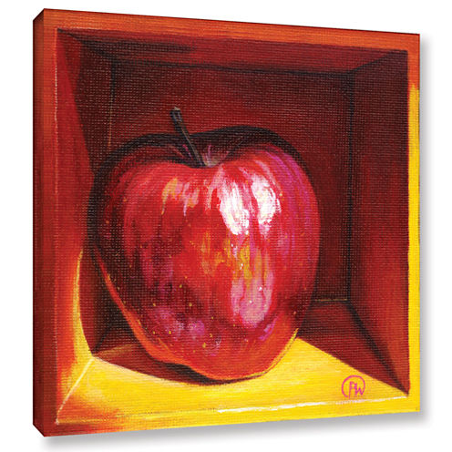 Brushstone Red Delicious Gallery Wrapped Canvas Wall Art