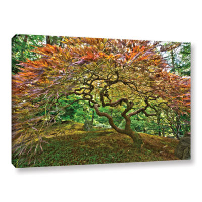 Brushstone Portland Japanese Garden 3 Gallery Wrapped Canvas Wall Art