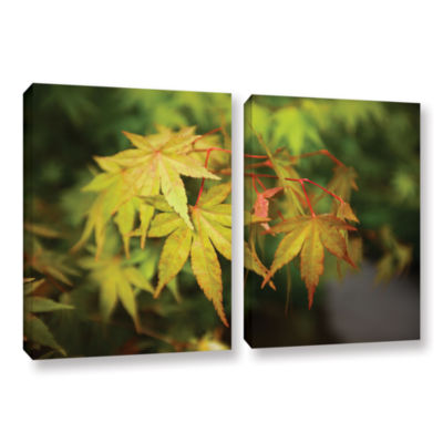 Brushstone Portland Japanese Garden 4 2-pc. Gallery Wrapped Canvas Wall Art