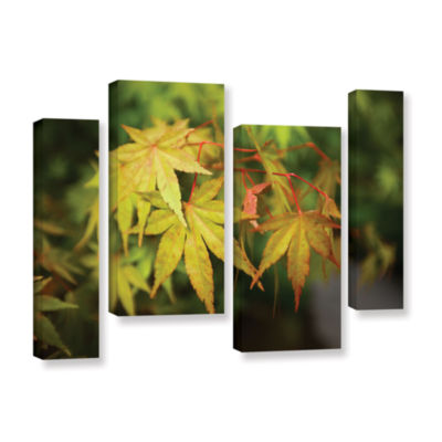 Brushstone Portland Japanese Garden 4 4-pc. Gallery Wrapped Staggered Canvas Wall Art