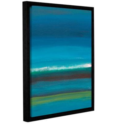 Brushstone Rolling Tide II Gallery Wrapped Floater-Framed Canvas Wall Art