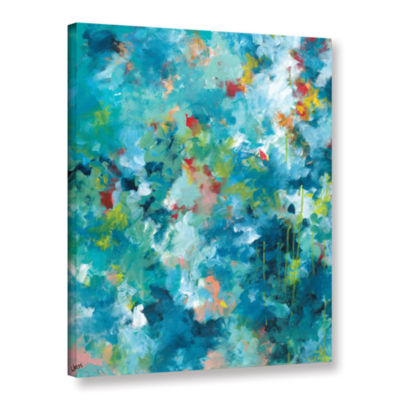 Brushstone Rainforest Gallery Wrapped Canvas WallArt