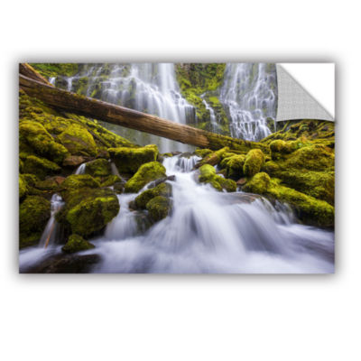 Brushstone Proxy Falls Oregon 3 Removable Wall Decal