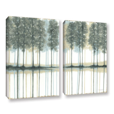 Brushstone Reflection 2-pc. Gallery Wrapped CanvasWall Art