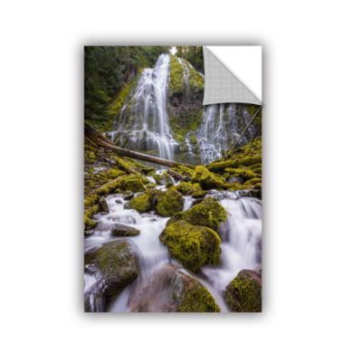 Brushstone Proxy Falls Oregon 5 Removable Wall Decal