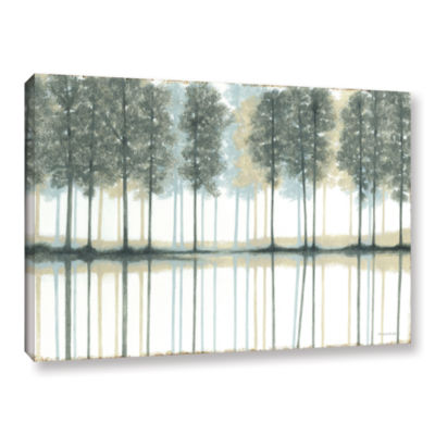 Brushstone Reflection Gallery Wrapped Canvas WallArt