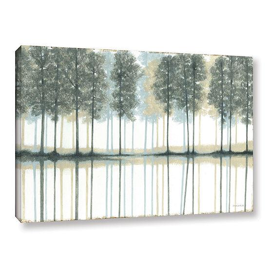 Brushstone Reflection Gallery Wrapped Canvas WallArt