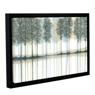 Brushstone Reflection Gallery Wrapped Floater-Framed Canvas Wall Art