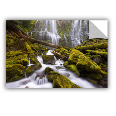 Brushstone Proxy Falls Oregon 6 Removable Wall Decal