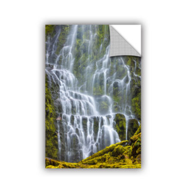 Brushstone Proxy Falls Oregon 9 Removable Wall Decal