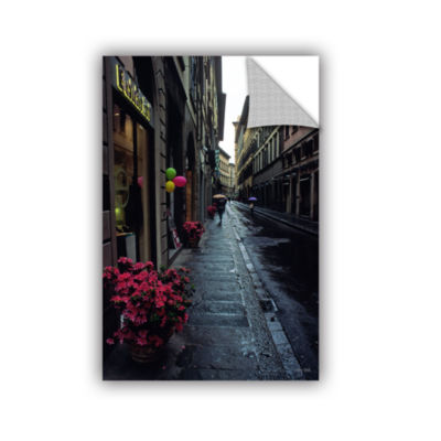 Brushstone Rainy Day In Florence Removable Wall Decal