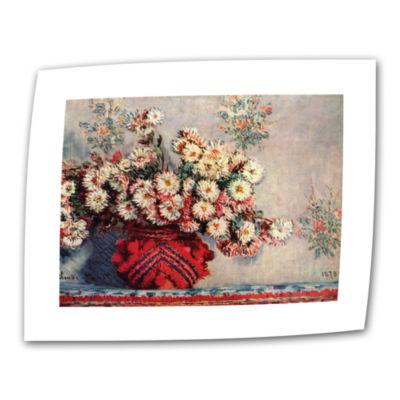 Brushstone Red Vase Canvas Wall Art