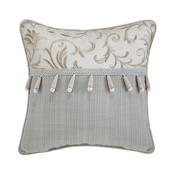Croscill Classics Caterina 16x16 Square Throw Pillow