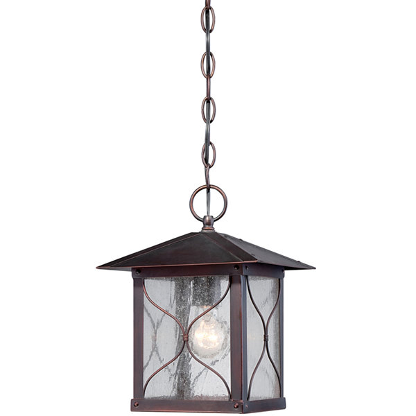 Filament Design 1-Light Classic Bronze Outdoor Hanging Lantern