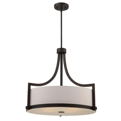 Filament Design 4-Light Russet Bronze Pendant