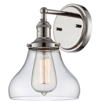Jcpenney Vanity Lights : Filament Design 1-Light Polished Nickel Bath Vanity - JCPenney