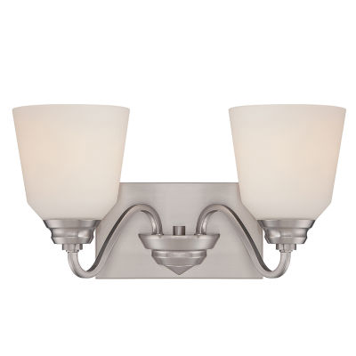 Filament Design 2-Light Brushed Nickel Bath Vanity