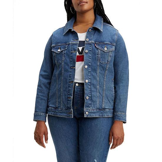 Levi's® Water<Less™ Womens Trucker Jacket - Plus