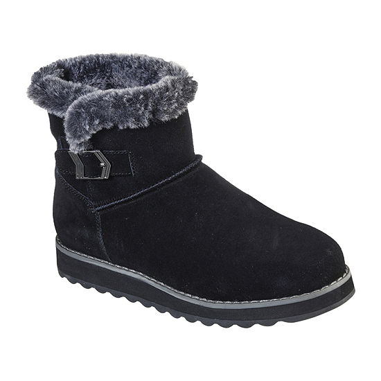 Skechers Womens Flat Heel Keepsakes 2.0 Winter Boots