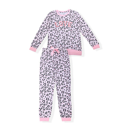 Sleep On It Big Girls 2-pc. Pajama Set
