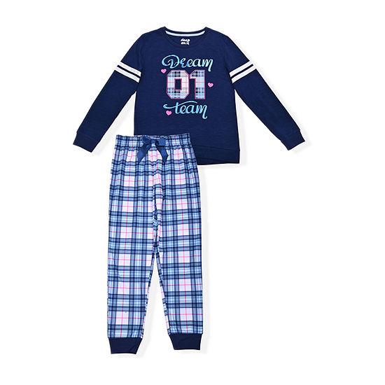 Sleep On It Big Girls 2-pc. Pajama Set