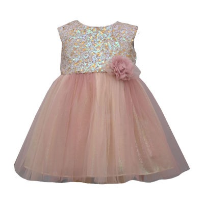 Bonnie Jean Toddler Girls Sleeveless Tutu Dress