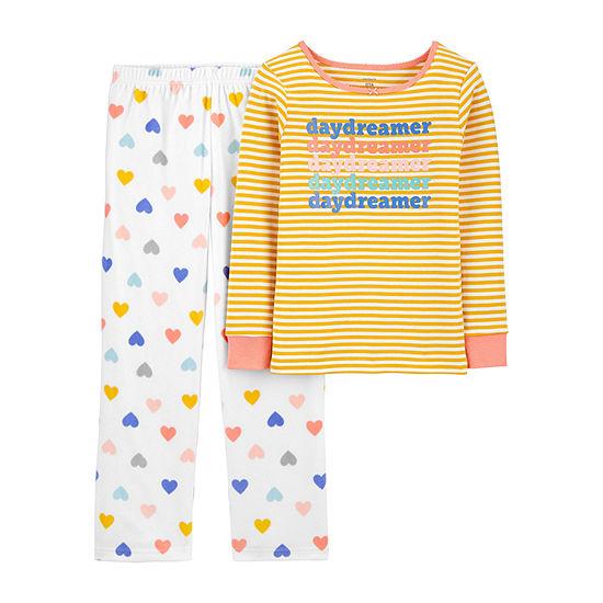 Carter's Little & Big Girls 2-pc. Pajama Set