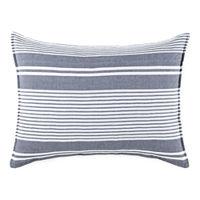 Hudson & Main Everet Stripes Quilt, One Size , Green
