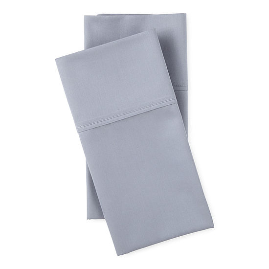 Loom + Forge 400TC Modern Refinement Sateen 2-Pack Pillowcase