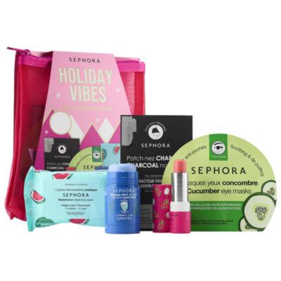 SEPHORA COLLECTION Holiday Vibes - 5 Piece Skincare Essentials Set